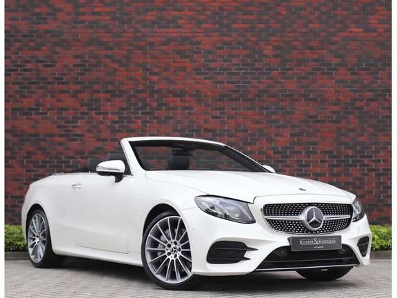 Mercedes-Benz E-Klasse Cabrio 450 4-Matic *AMG*Widescreen*Burmester*IWC*Distronic*