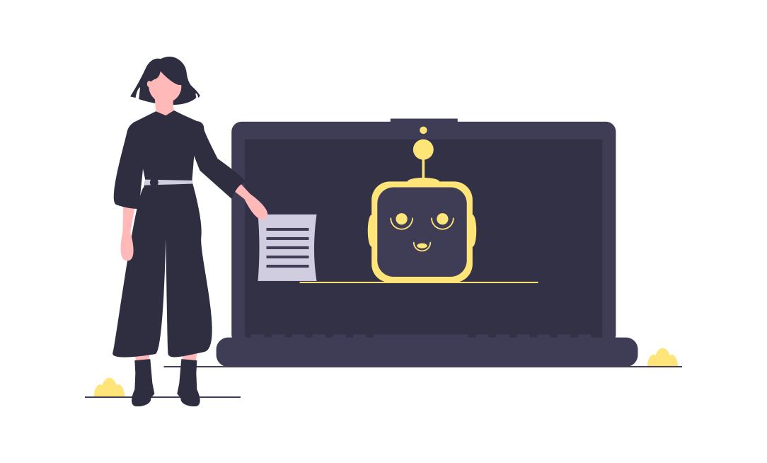Chatbots in CRO illustration