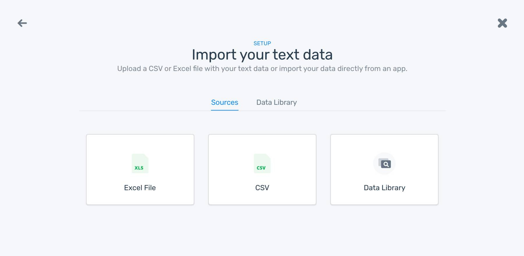 Import data to your Extractor