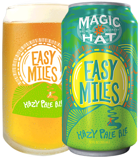 Easy Miles Pint and Can