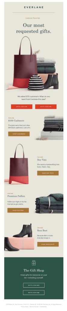 Everlane Gift Guide