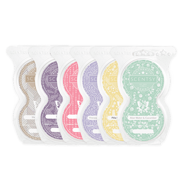 6 Scentsy Pods