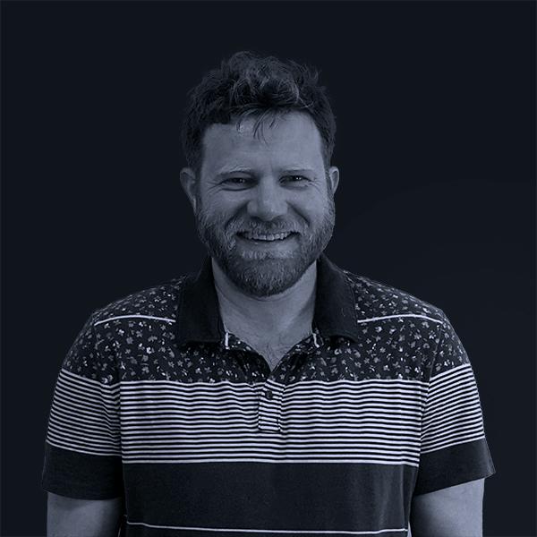Black and white photo of Mojo Ryan Stapler