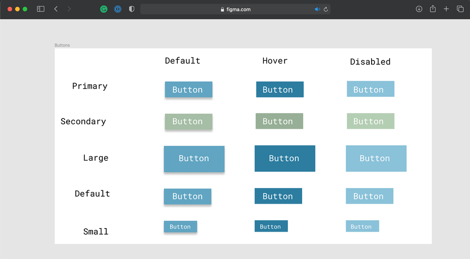Welcome, Developer - Figma Buttons Solution