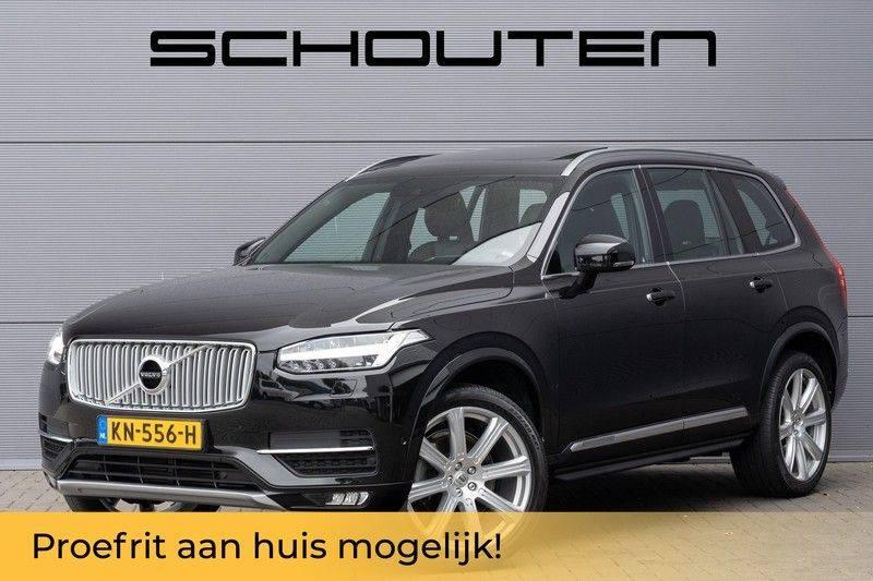 "Volvo XC90 2.0 D4 190pk AWD Inscription 7-pers. Pano Leer Camera 21"" afbeelding 1"
