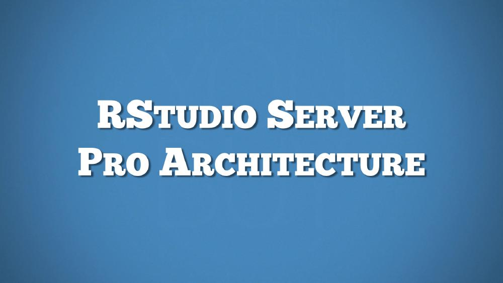 RStudio Server and RStudio Server Pro