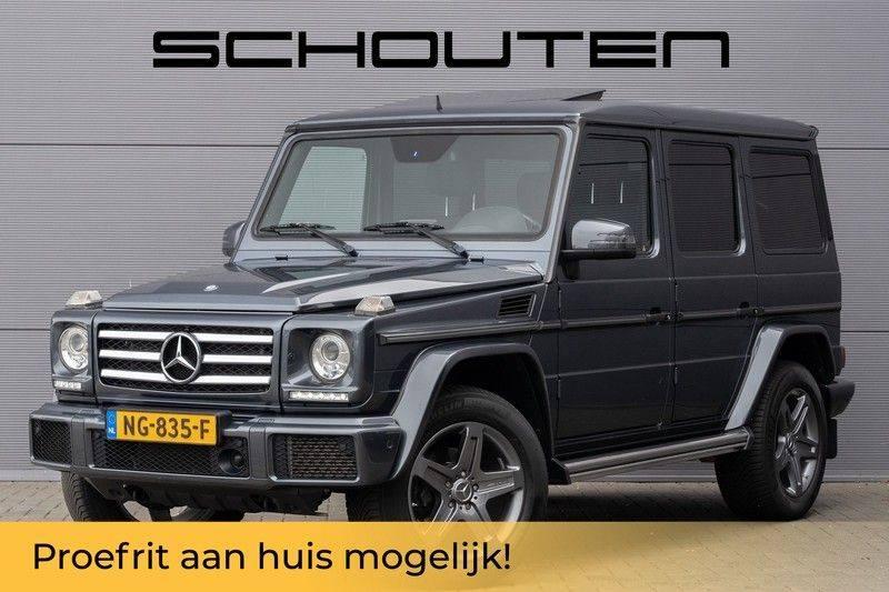 Mercedes-Benz G-Klasse 350 D 245pk Sportpakket Schuifdak Distronic Stoelventilatie afbeelding 1