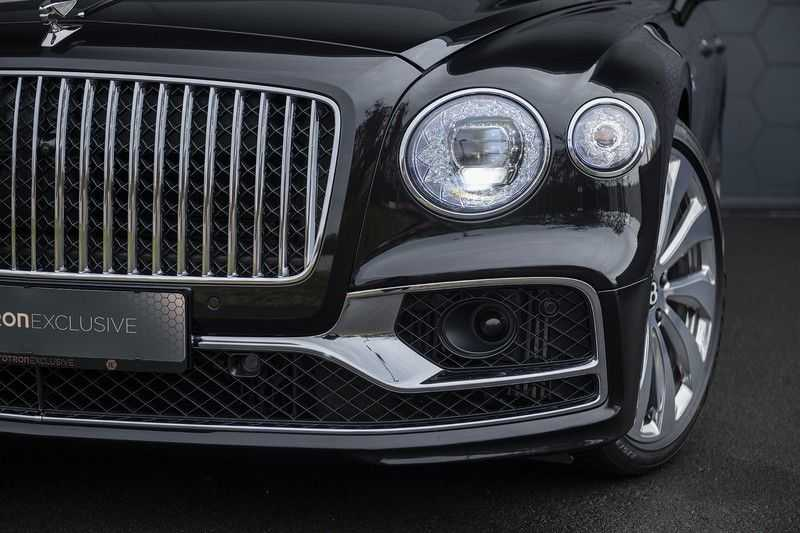 Bentley Flying Spur 6.0 W12 FIRST EDITION MY 2021 NAIM + Mulliner + Touring Spec + Head-Up + Bentley Rotating Display + Onyx Pearl / Beluga + Full Option + afbeelding 17