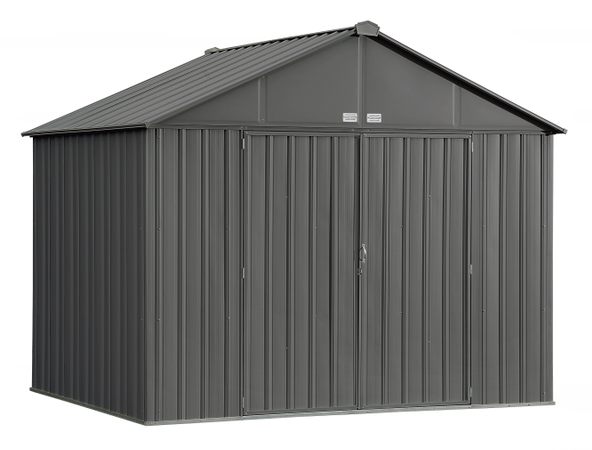 10x8 EZEE Shed in Charcoal