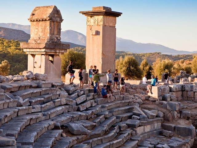 A Trip to Xanthos and Letoon While Sailing Turkey