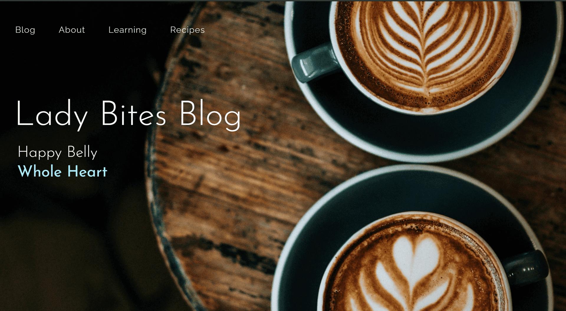 Lady Bites Blog Homepage
