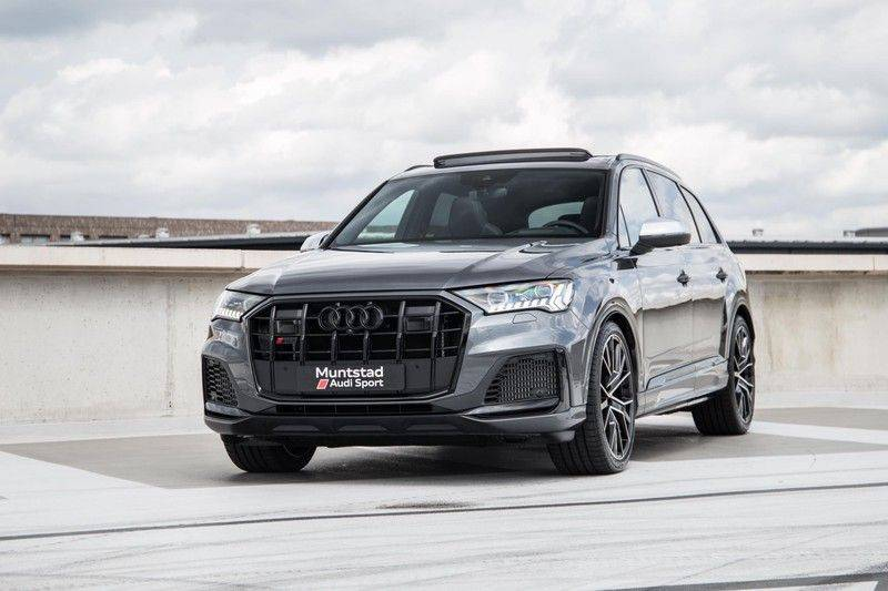 Audi SQ7 4.0 TFSI SQ7 quattro 7p 507PK | S-Line | Pano.Dak | 360 Camera | B&O Sound | Keyless-Entry | S-Sportstoelen | Assistentie Tour-City-Parking | 7 Persoons afbeelding 9