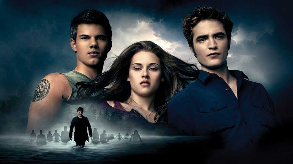 Pattinson, Stewart and Lautner in The Twilight Saga: Eclipse
