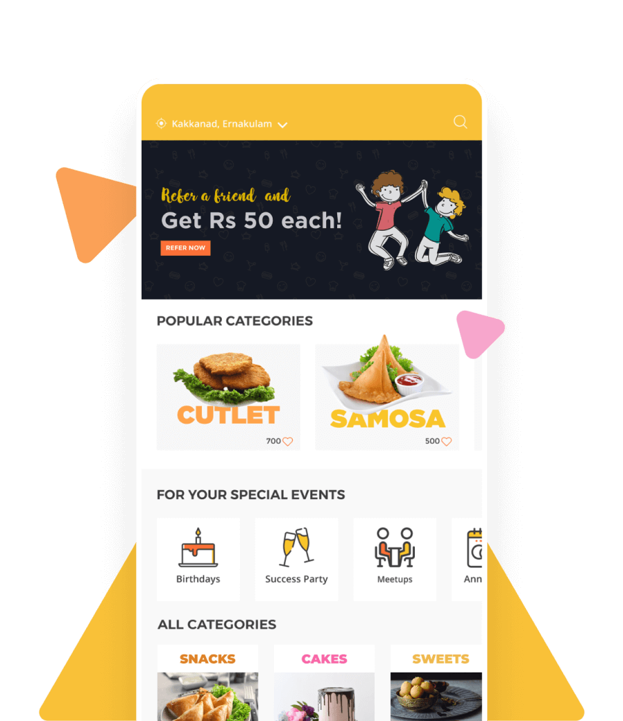 Custom Food Delivery App Development Solution