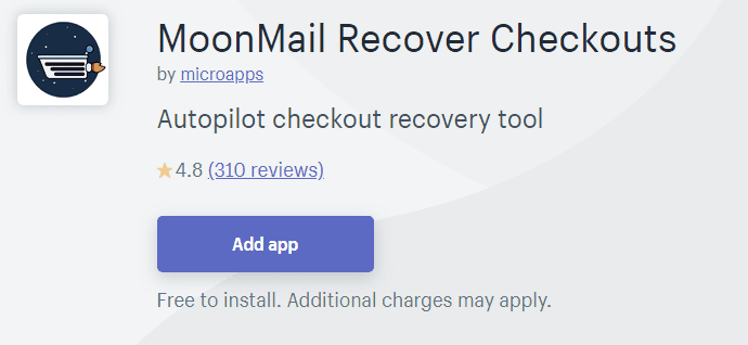 Moonmail Recover Checkouts