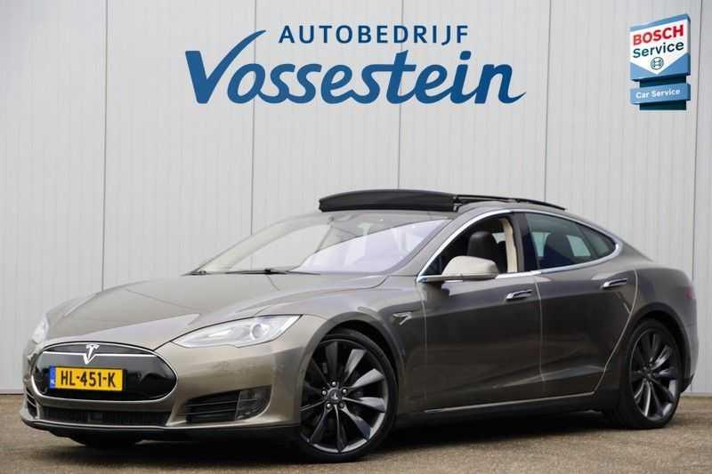 "Tesla Model S 90D Base / 422 PK / Panoramadak / Luchtvering / NL-Auto / 132dkm NAP / 21"" LMV / Leder afbeelding 6"