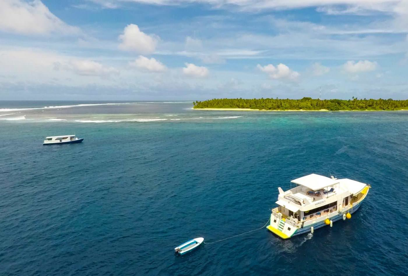Blue Horizon 2 Surf Charter Boat Maldives Cruising