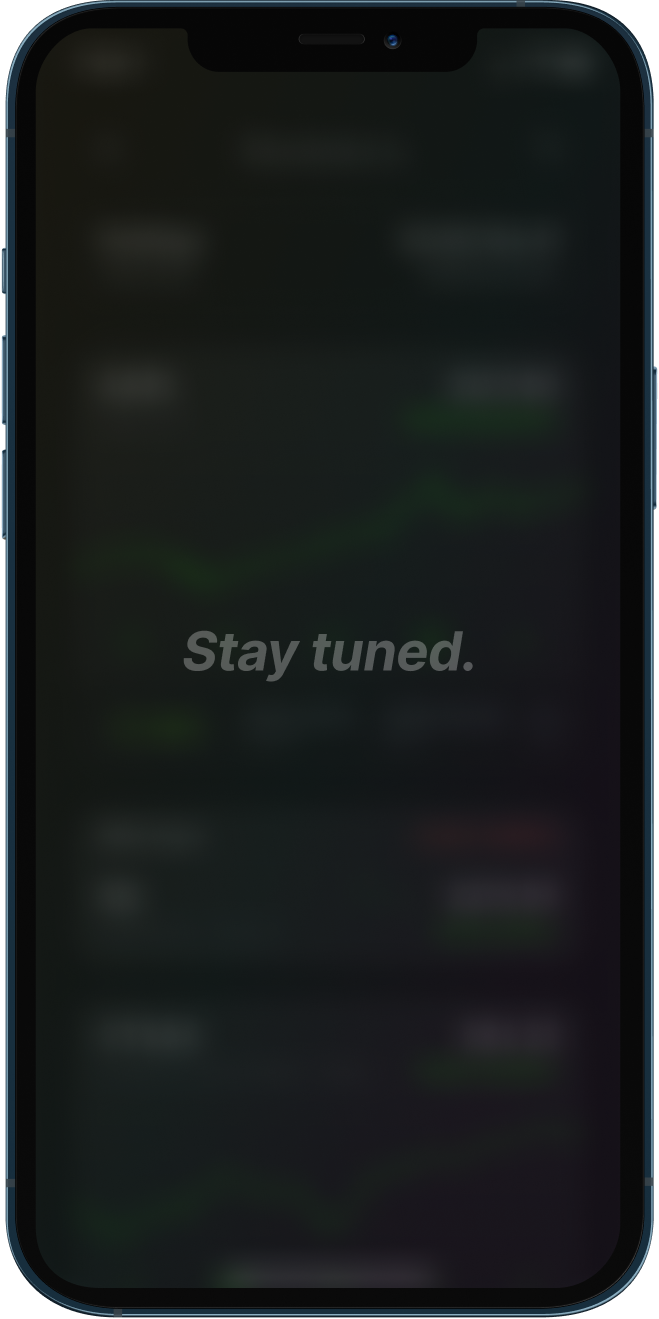 Stocketa app screenshot in phone frame