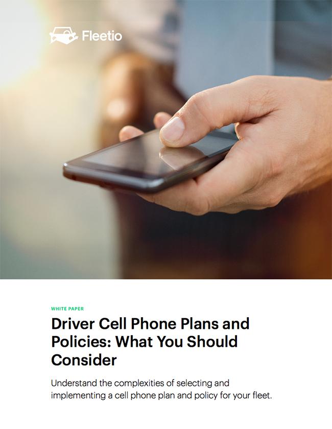Driver phone plans white paper thumb