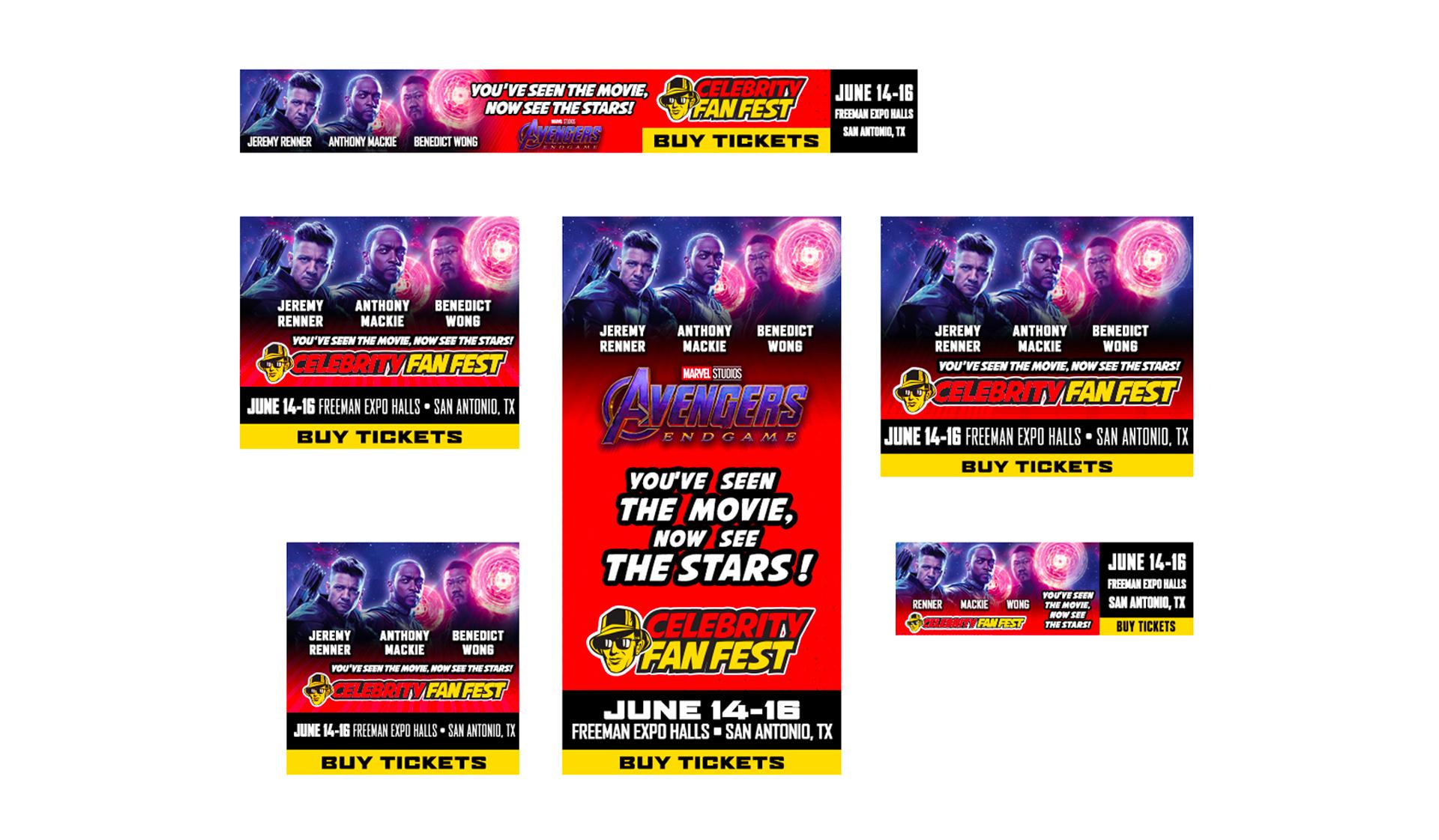 CFF Avengers Web Ads
