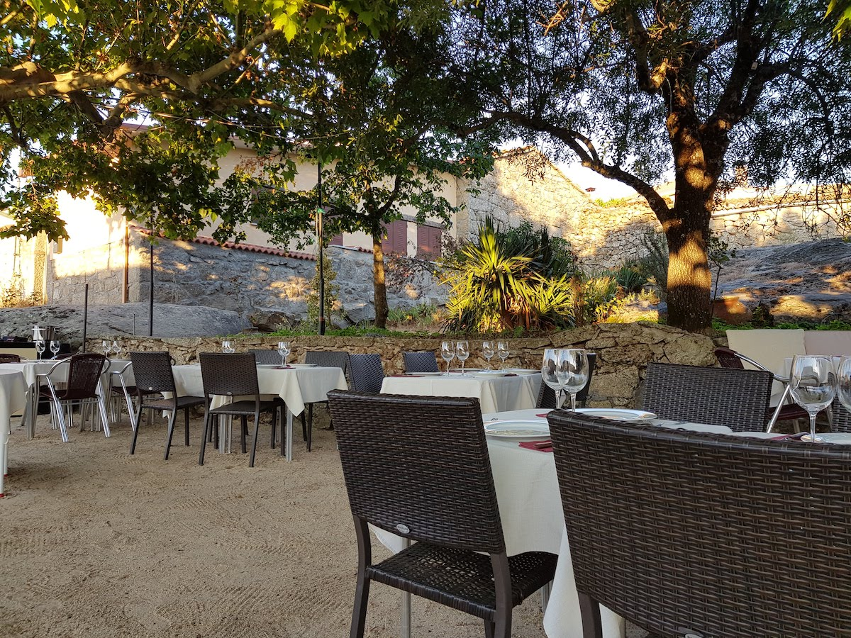 Terraza de restaurante en Béjar