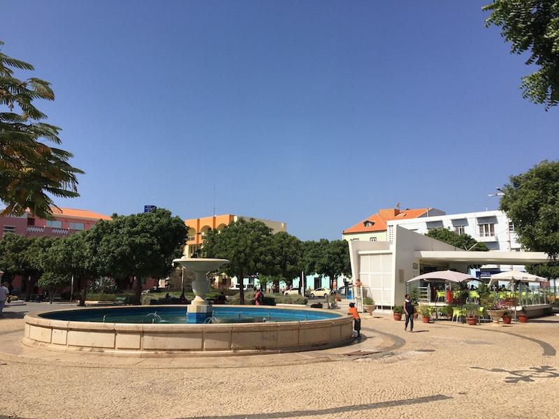 Main square in Praia