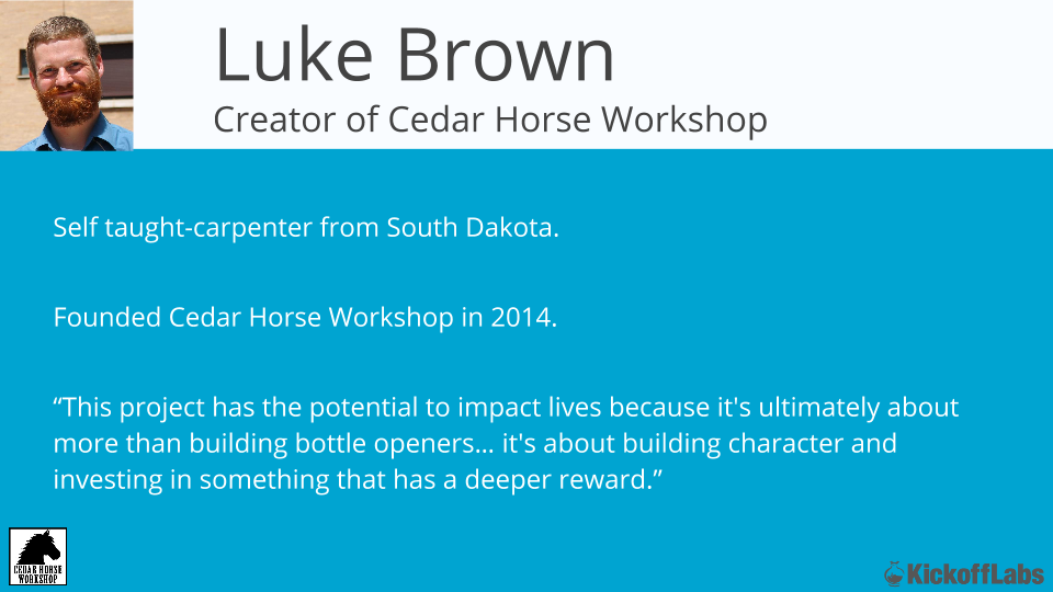 Cedar Horse Workshop Launch Story (1)