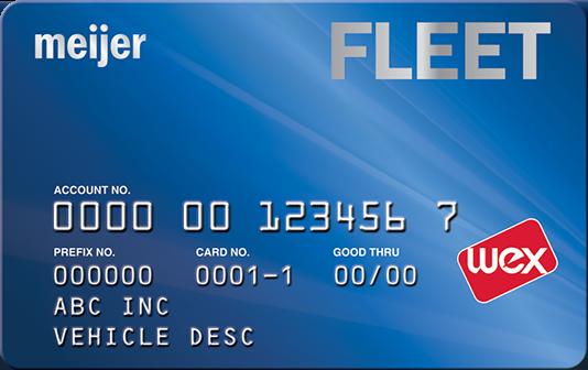 Meijer card