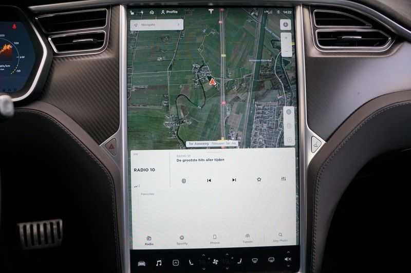 Tesla Model S P90D Performance Ludicrous 576pk / Autopilot / Pano / 21inch / Carbon / 162.500,- Nieuw afbeelding 19