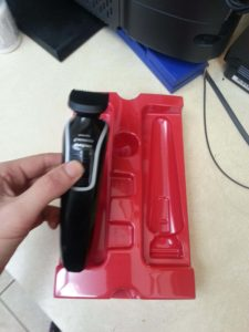 Philips Norelco series shaver unpacking