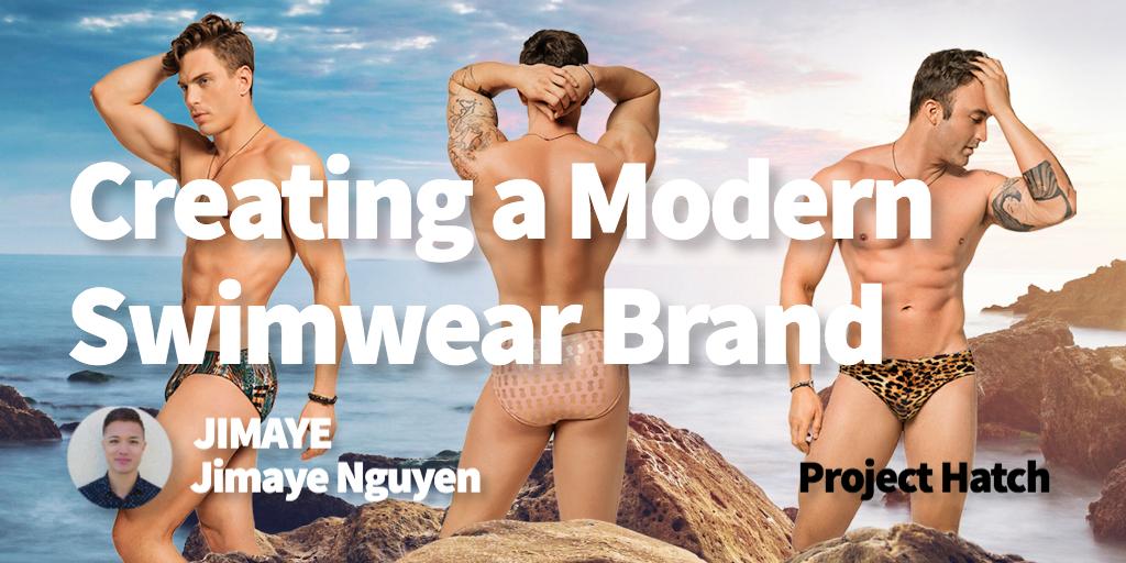 Creating a modern swimwear brand with Jimaye Nguyen