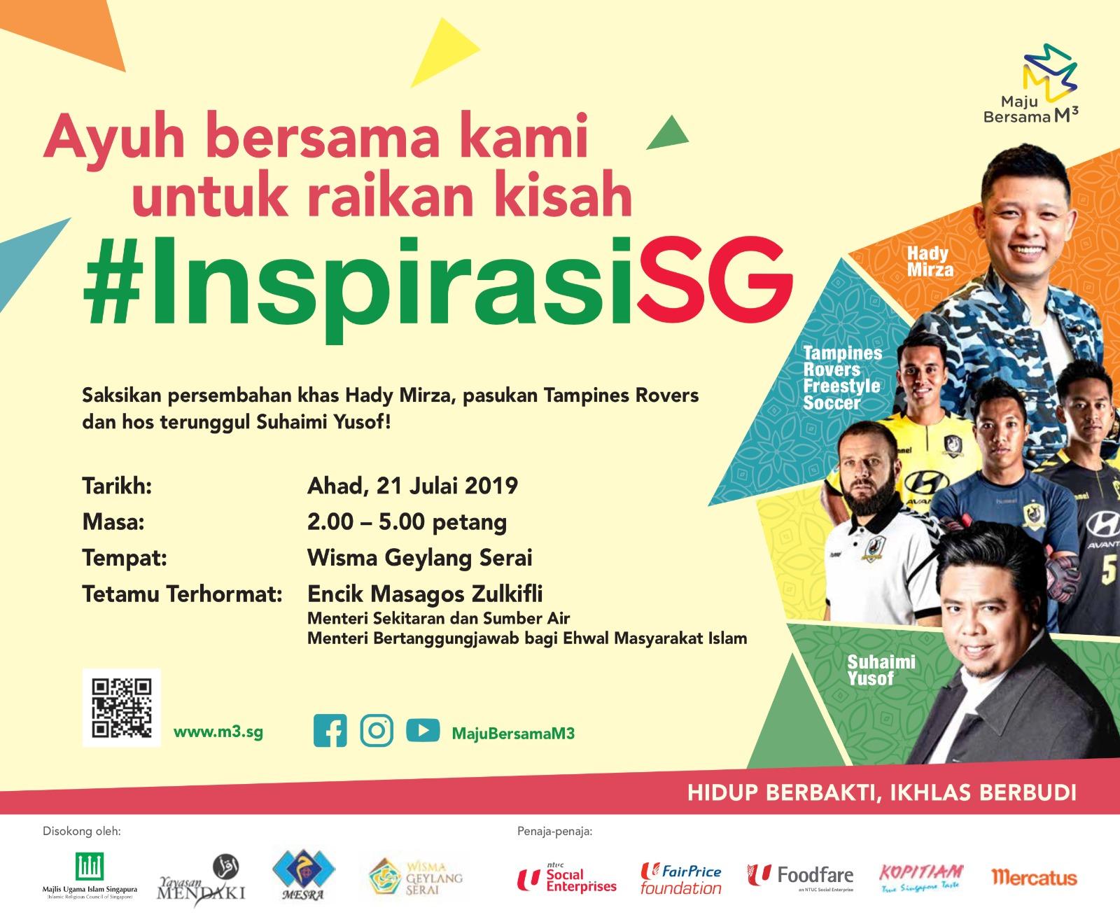 Celebrating InspirasiSG Event