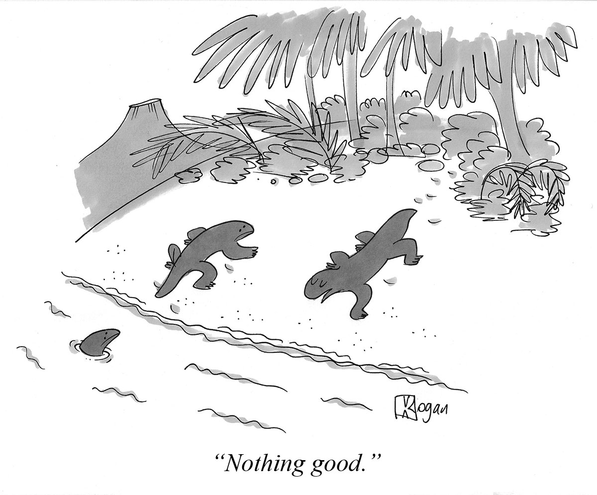 Nothing good.