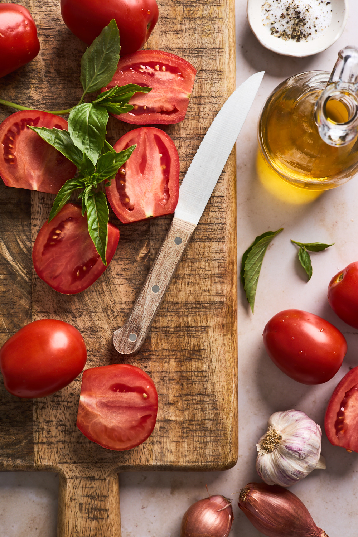 Roasted Tomato Basil Soup ingredients