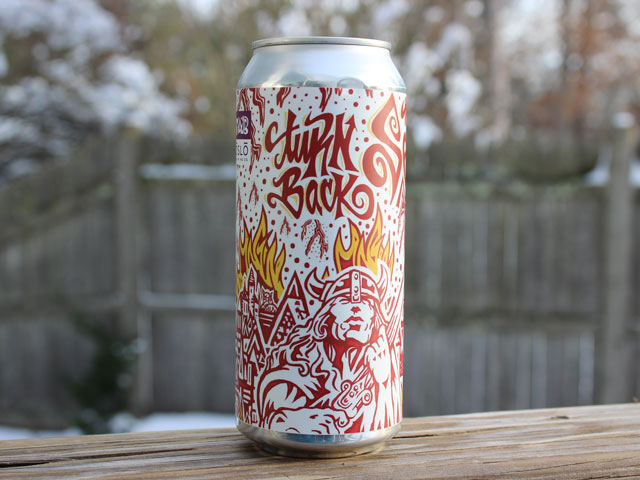 Atlantis Will Prevail/Turn Back the Seas, a Double New England IPA / Norida IPA brewed by Fermentations Arts Brasserie (FAB) / Oslo Brewing Company