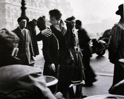 o beijo do hotel de ville (paris 1950)