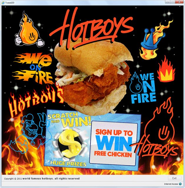 Hotboys Popup