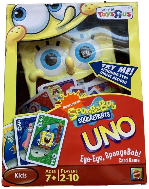 Uno Eye-Eye, SpongeBob!