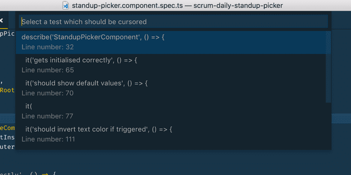 My First Visual Code Extension Image
