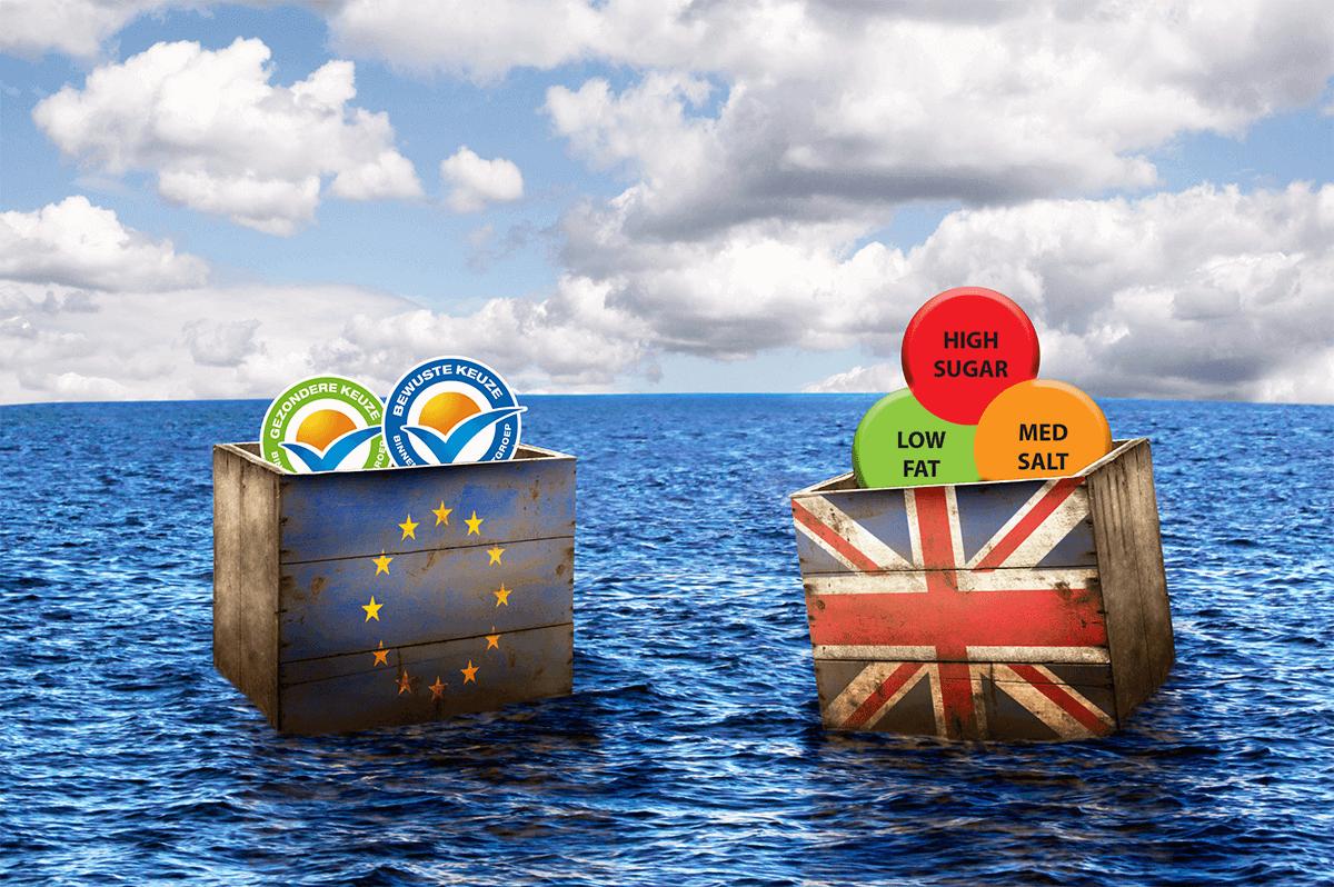 Brexit voedingswaarde stoplicht