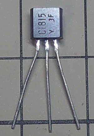 NPNトランジスタ 2SC1815-Y