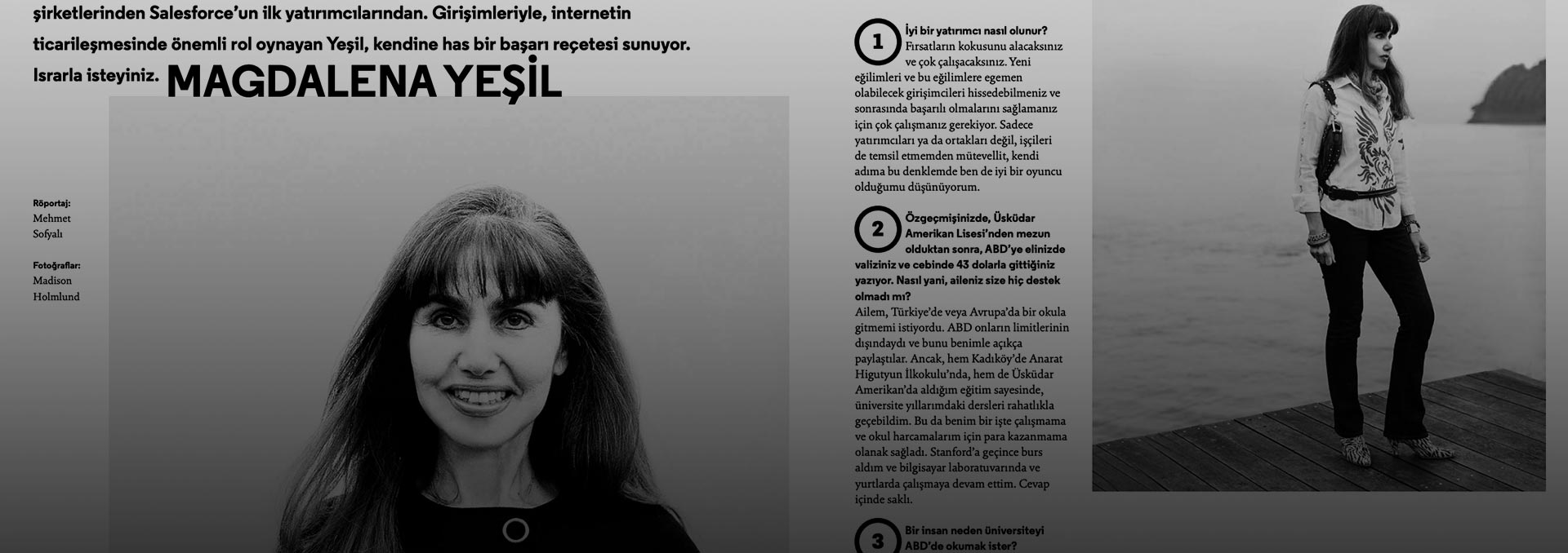 XOXO Magazine Interview with Magdalena Yesil