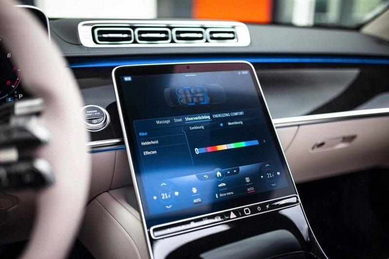 "Mercedes-Benz S-Klasse 500 4Matic Lang AMG NP €193.000 *Pano / 3D Burmester / HUD / Distronic / 21"" / 3D Display* afbeelding 17"