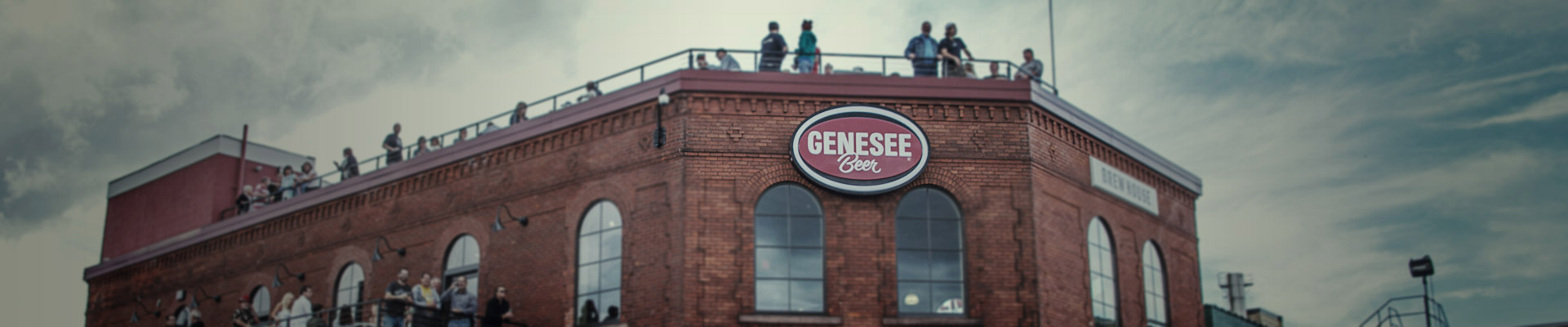 Genesee Brew House sign