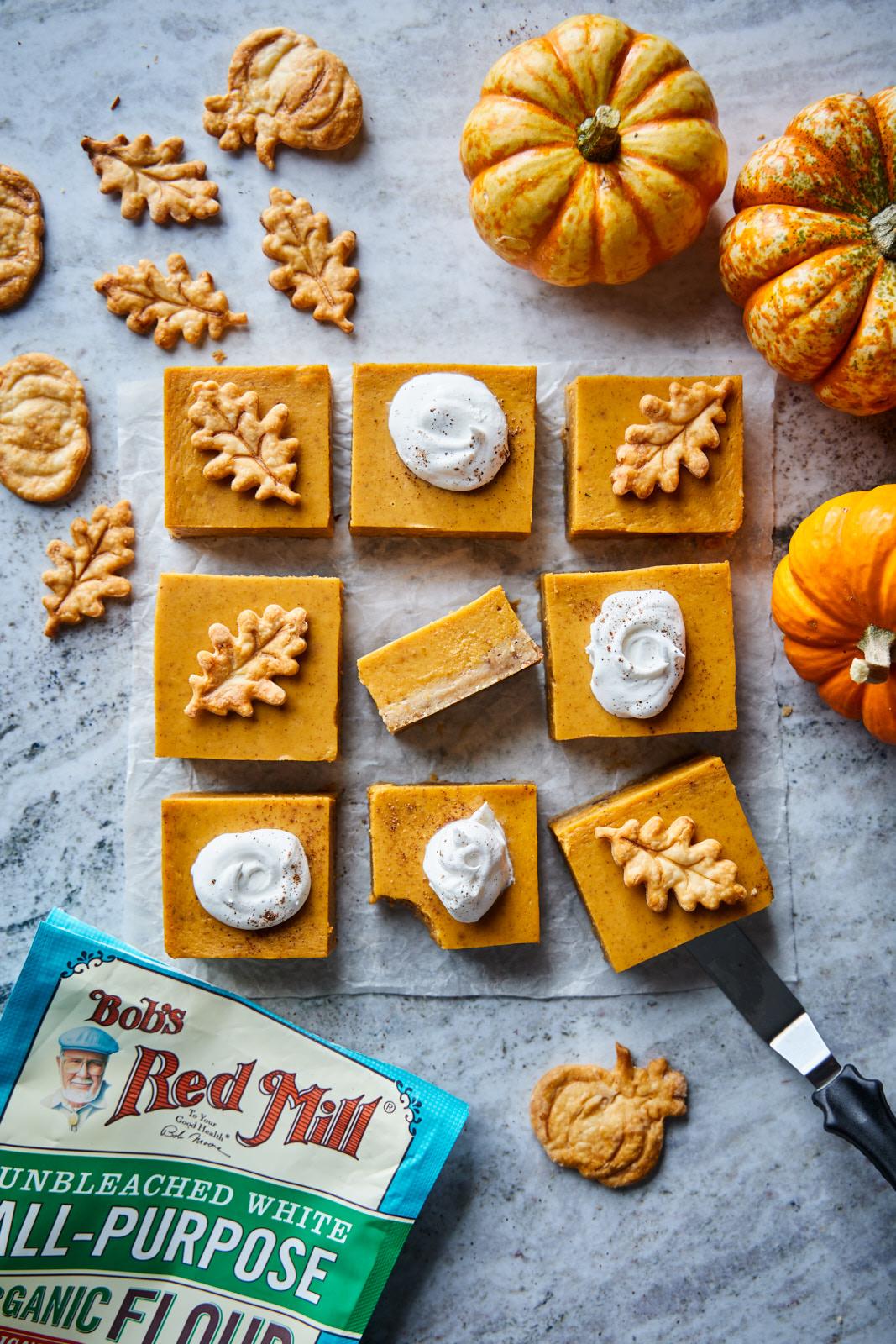 Creamy Pumpkin Pie Bars