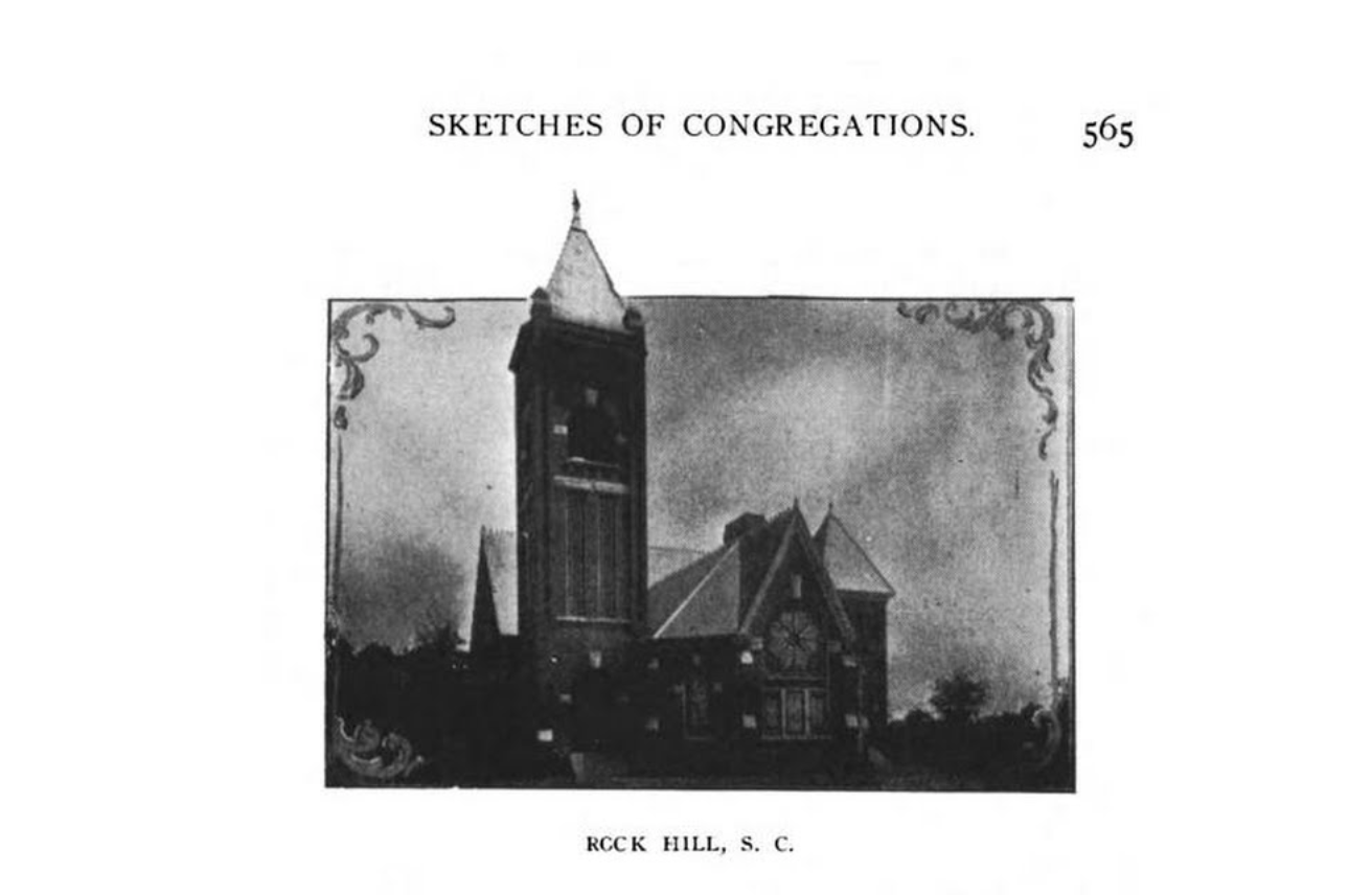 Sketches of the Associate Reformed Presbyterian congregations of York County, SC (as of 1903).