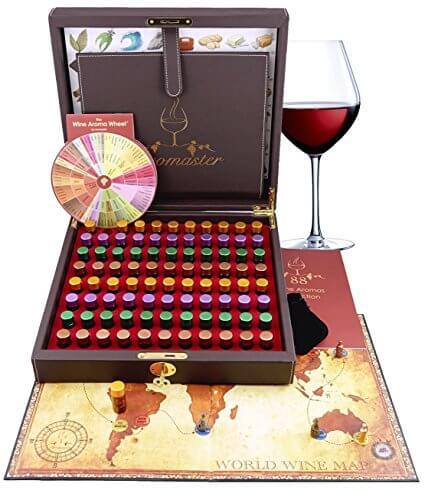 Wine Aromas Tasting Kit by Aromaster