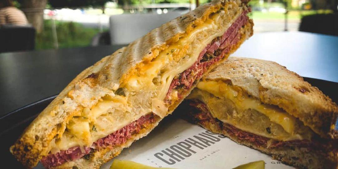 Chophaus Roundhay sandwich