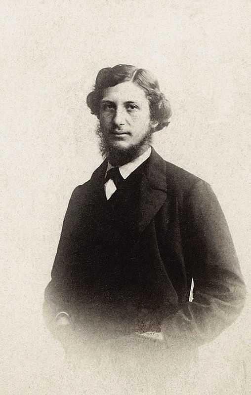 A rare photograph of Frédéric Bazille at the age of 26