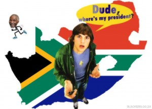 Dude, Where's My President?